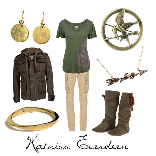 """Katniss Everdeen"" by character-inspired-style on Polyvore"