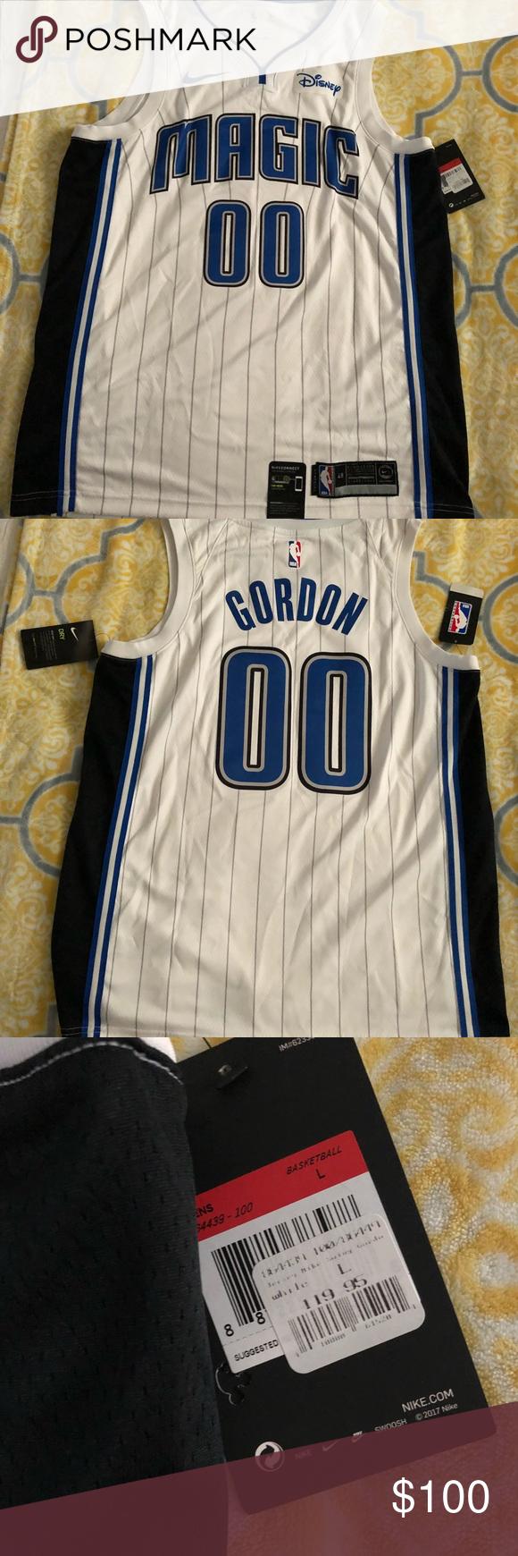 new style 25873 6a4fb Nike Disney Gordon Orlando Magic Jersey Gordon 00 Orlando ...