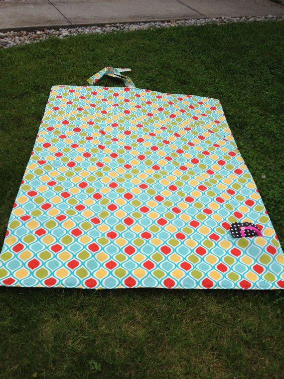 Custom Huge Waterproof Picnic Blanket