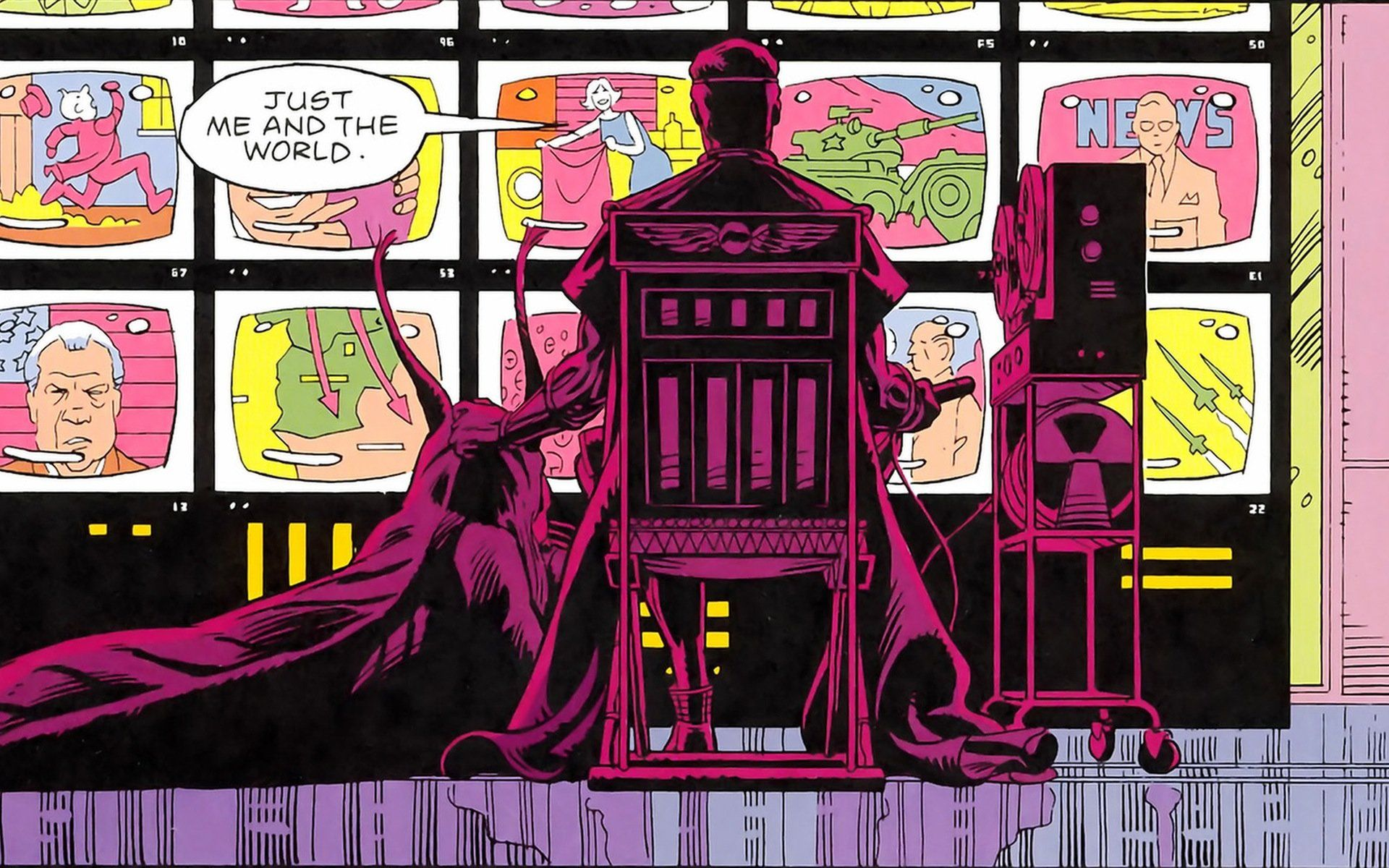 Jeremy Irons May Play Ozymandias In Hbo S Watchmen Watchmen Tv