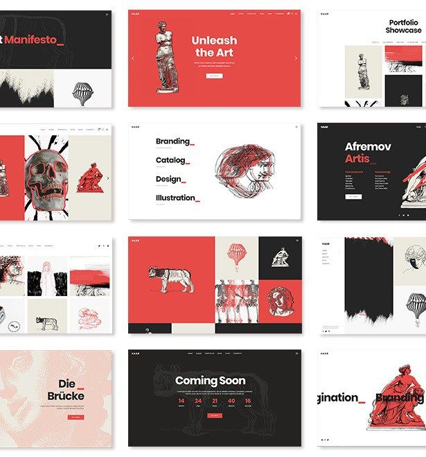 plantillas wordpress para galerías y artistas - fotografía ...