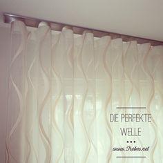 neuer vorhang trend wellenvorhang vorh nge geschlagen. Black Bedroom Furniture Sets. Home Design Ideas