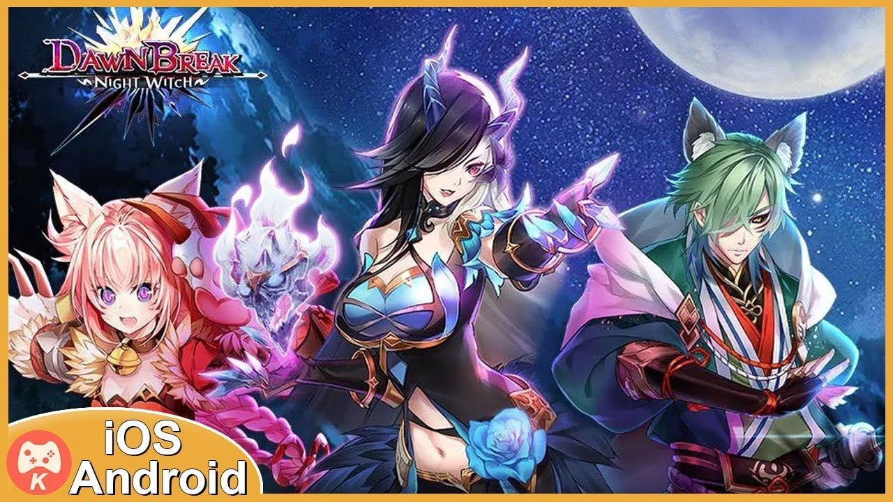 Dawn break ii night witch gameplay ios android games