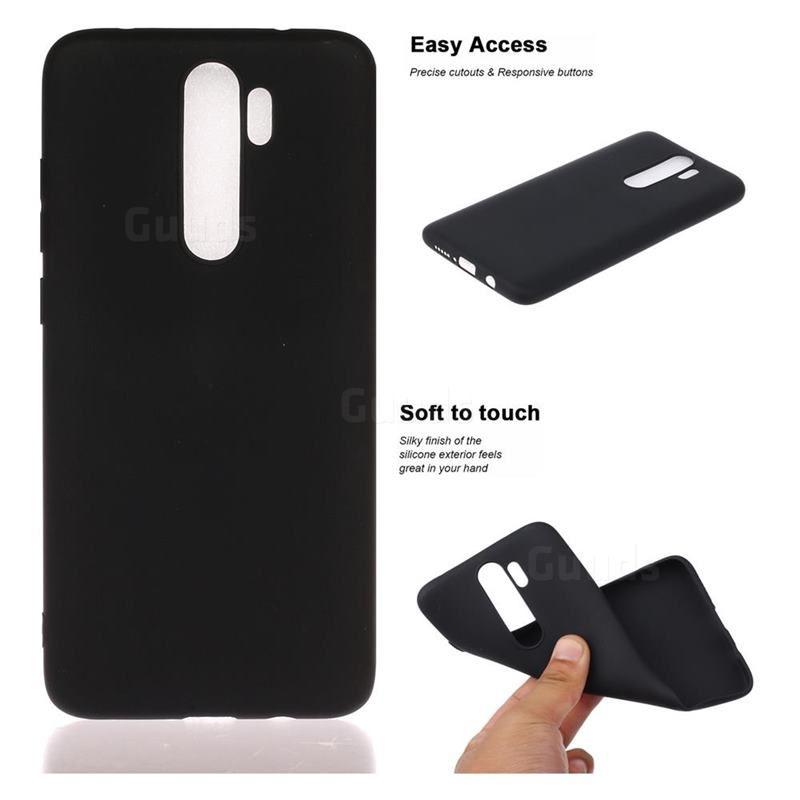 Candy Soft Tpu Back Cover For Mi Xiaomi Redmi Note 8 Pro Black Xiaomi Redmi Note 8 Pro Cases Guuds Xiaomi Black Candy Soft