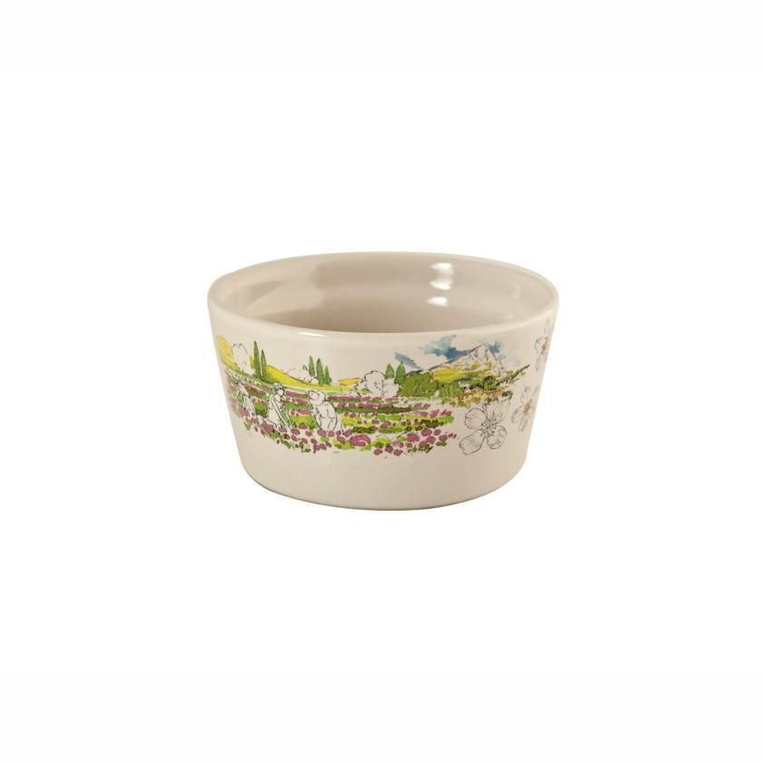 Gien - 'Provence' Collection - Soufflé dishes, s/2