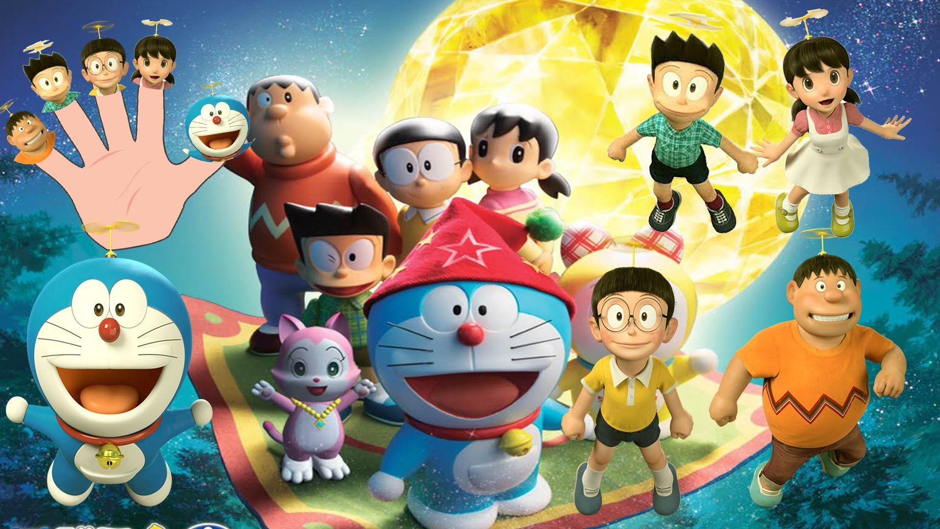 Doraemon 3d finger family nursery rhymes kidsf fingerfamilyheroes doraemon 3d finger family nursery rhymes kidsf fingerfamilyheroes voltagebd Images