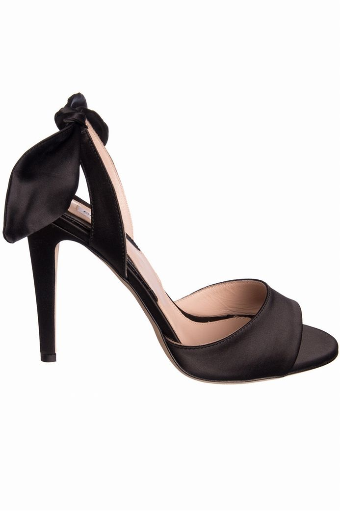 SANDALE TALON NOEUD CARVEN-NOIR - Brand Bazar   Shoes   Pinterest ... 428719eceee