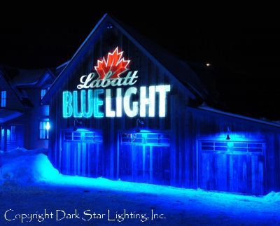 Here Dark Star Lighting Inc Provides Beautiful Rich Architectural For A House Party In Stowe Vermont Labatt Blue Light Headquarters