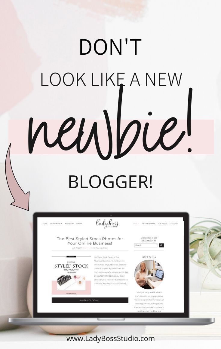 Avoid looking like a new blogger, we help you learn how!  Blogging for beginners is tough and it's soo easy to make these blogging mistakes!  Let us be your beginner blogging guide and help you on your blogging journey! // Lady Boss Studio -- #bloggingforbeginners #bloggingmistakes #newblogger #bloggingtips