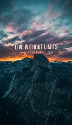 Live without limits. Download this FREE wallpaper @ www.V3Apparel.com/MadeToMotivate and many more f...