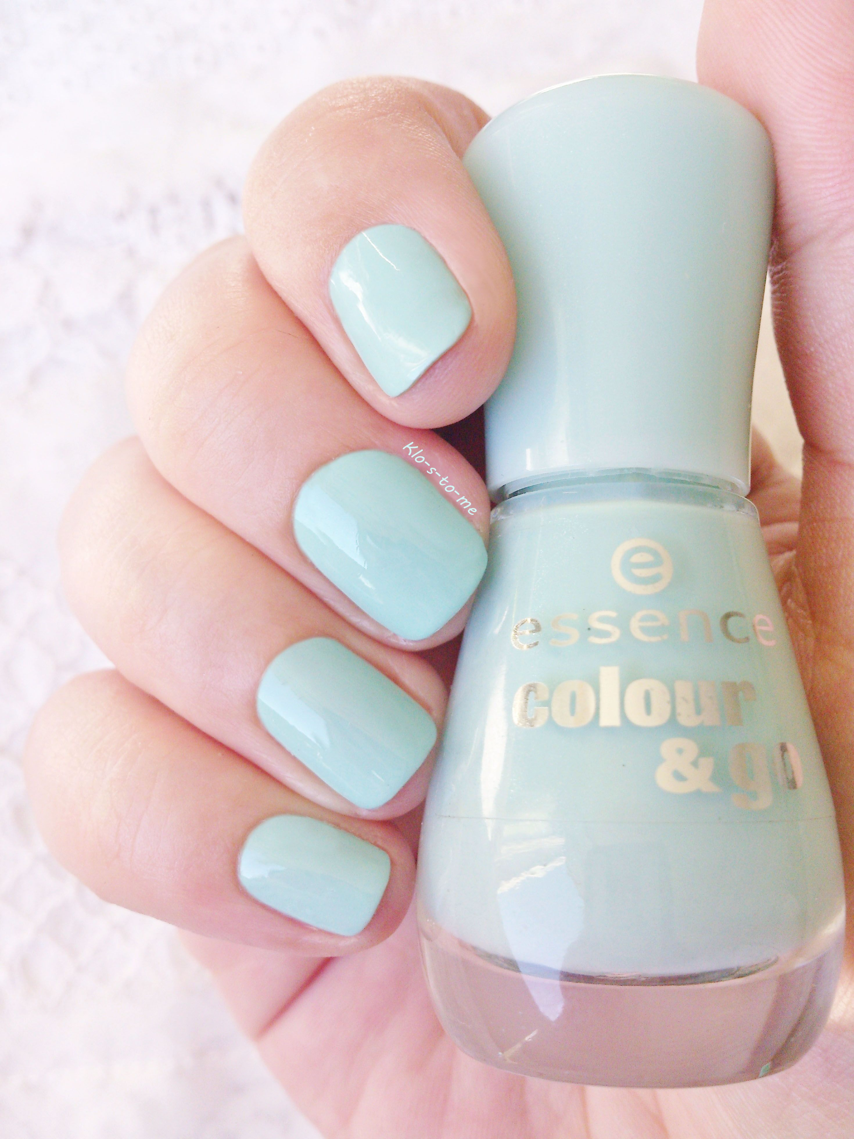 Essence : That\'s what I mint n°146 Nail polish Challenge : Wear all ...