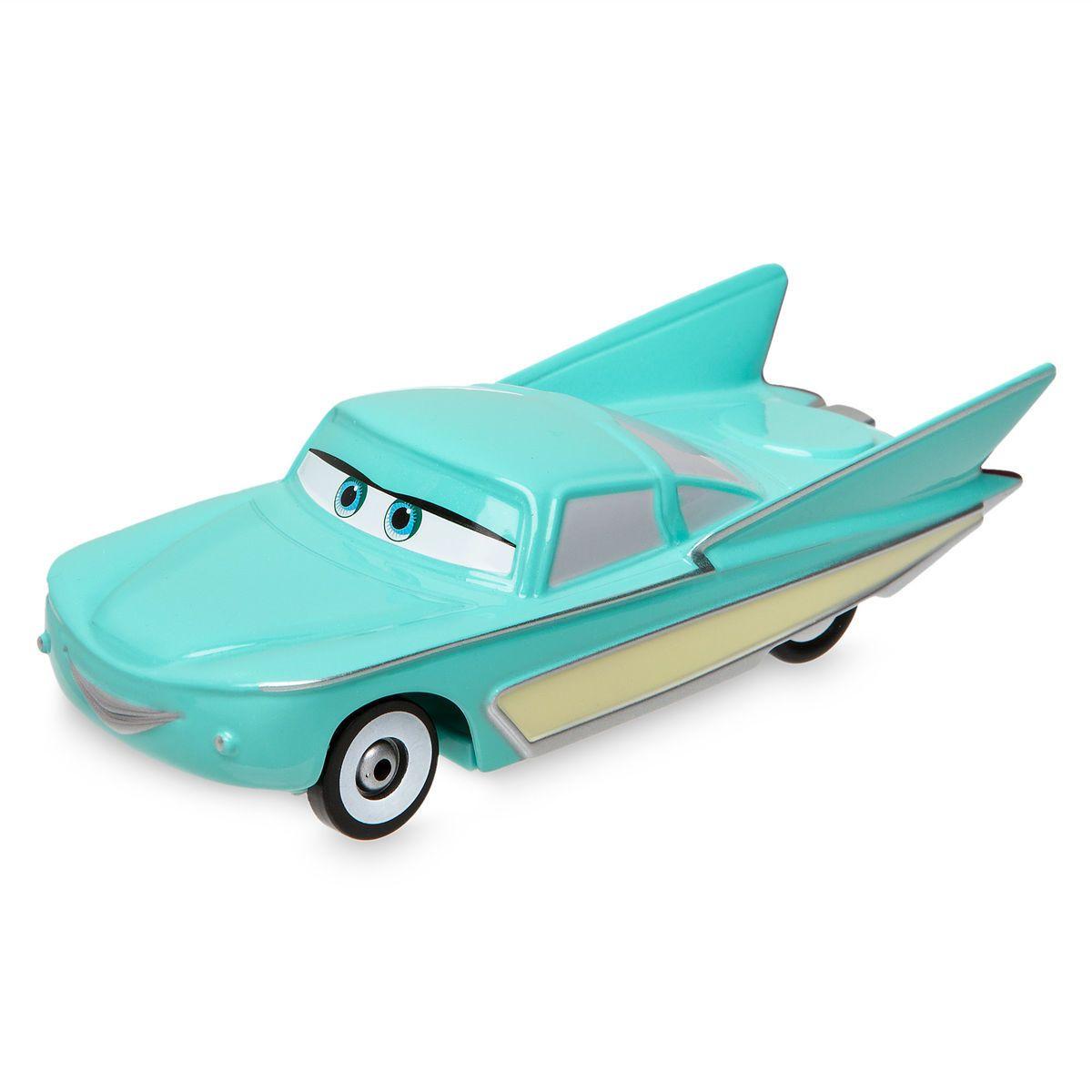 Flo Pull N Race Die Cast Car Cars Diecast Car Car Disney Cars