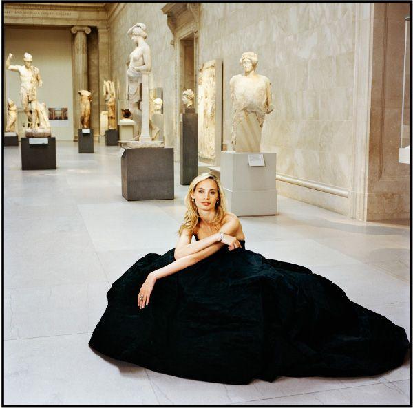Lauren Santo Domingo Was Photographed In A Billowing Rochas Gown At The Metropolitan Museum Of Art