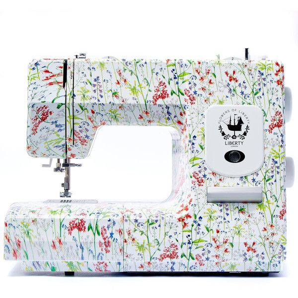 Flowers of Liberty Theodora Liberty Print Sewing Machine (€265) ❤ liked on Polyvore featuring home, home improvement and storage & organization