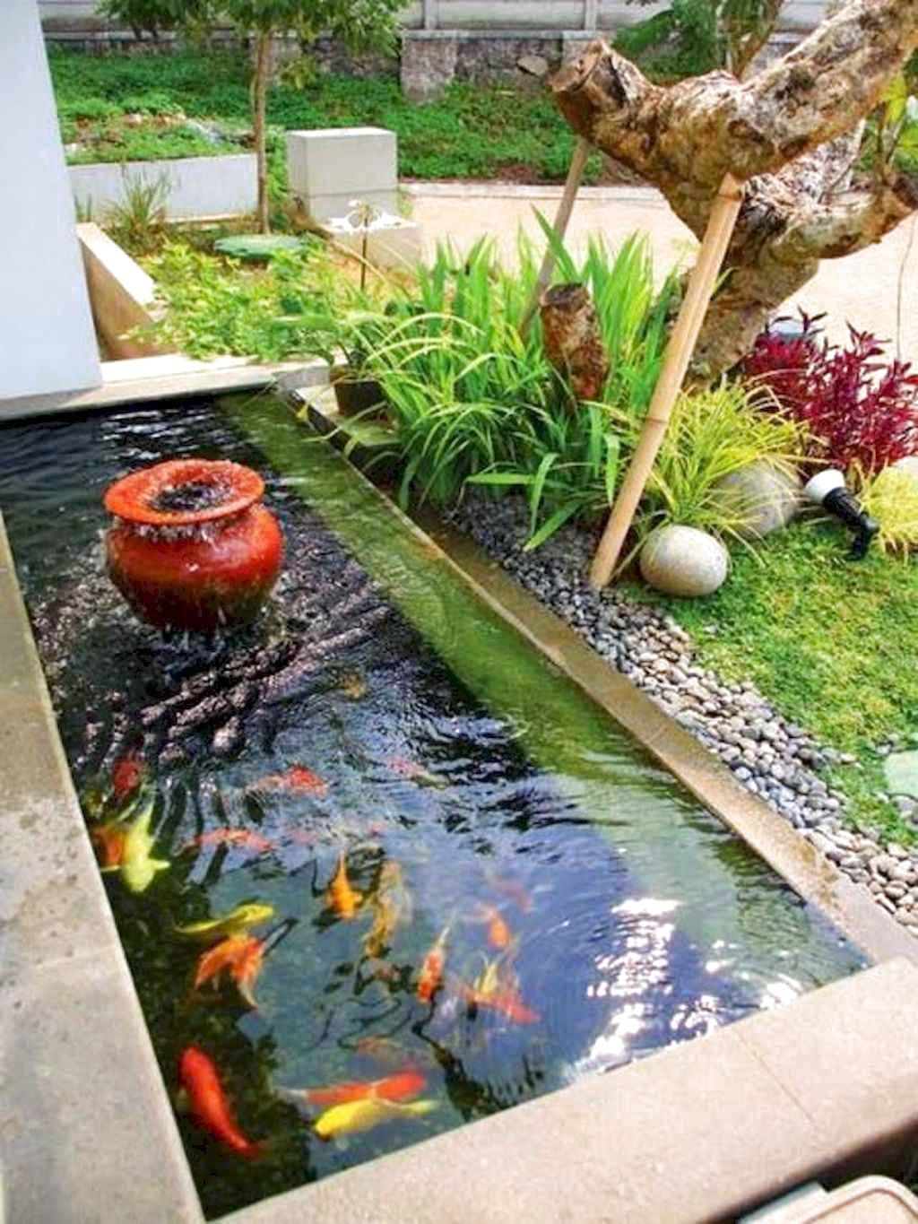 47 Amazing Backyard Ponds And Water Garden Landscaping Ideas The Expert Beautiful Ideas Fish Ponds Backyard Ponds Backyard Small Backyard Ponds