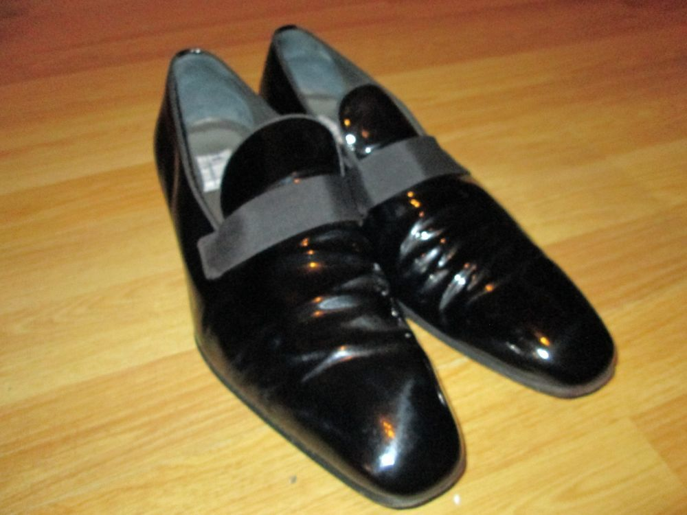 91f687398f0 MORESCHI FOR RUSSEL   BROMLEY SHOES PATENT WET BLACK LEATHER ITALY X LONDON  9.5  fashion  clothing  shoes  accessories  mensshoes  dressshoes (ebay  link)