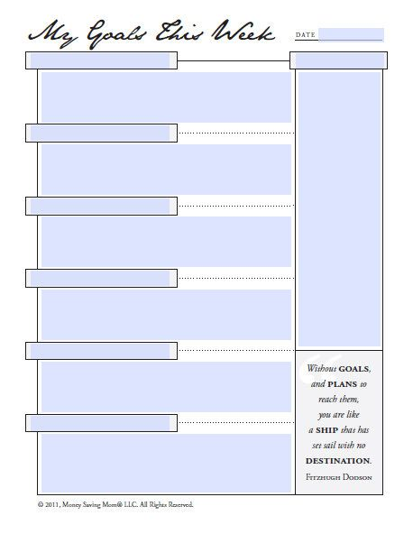 1000+ images about Goal sheets!!!!!!! on Pinterest   Smiley faces ...