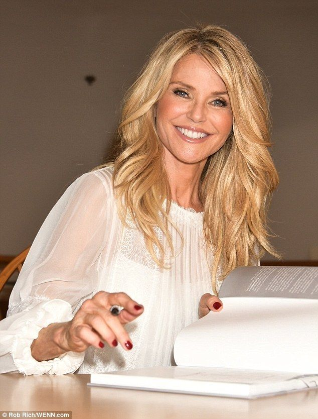 Christie Brinkley Smiles As She Contnues To Promote Timeless Beauty