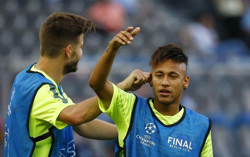 Neymar Tak Sabar Cium Trofi Liga Champions Jelang