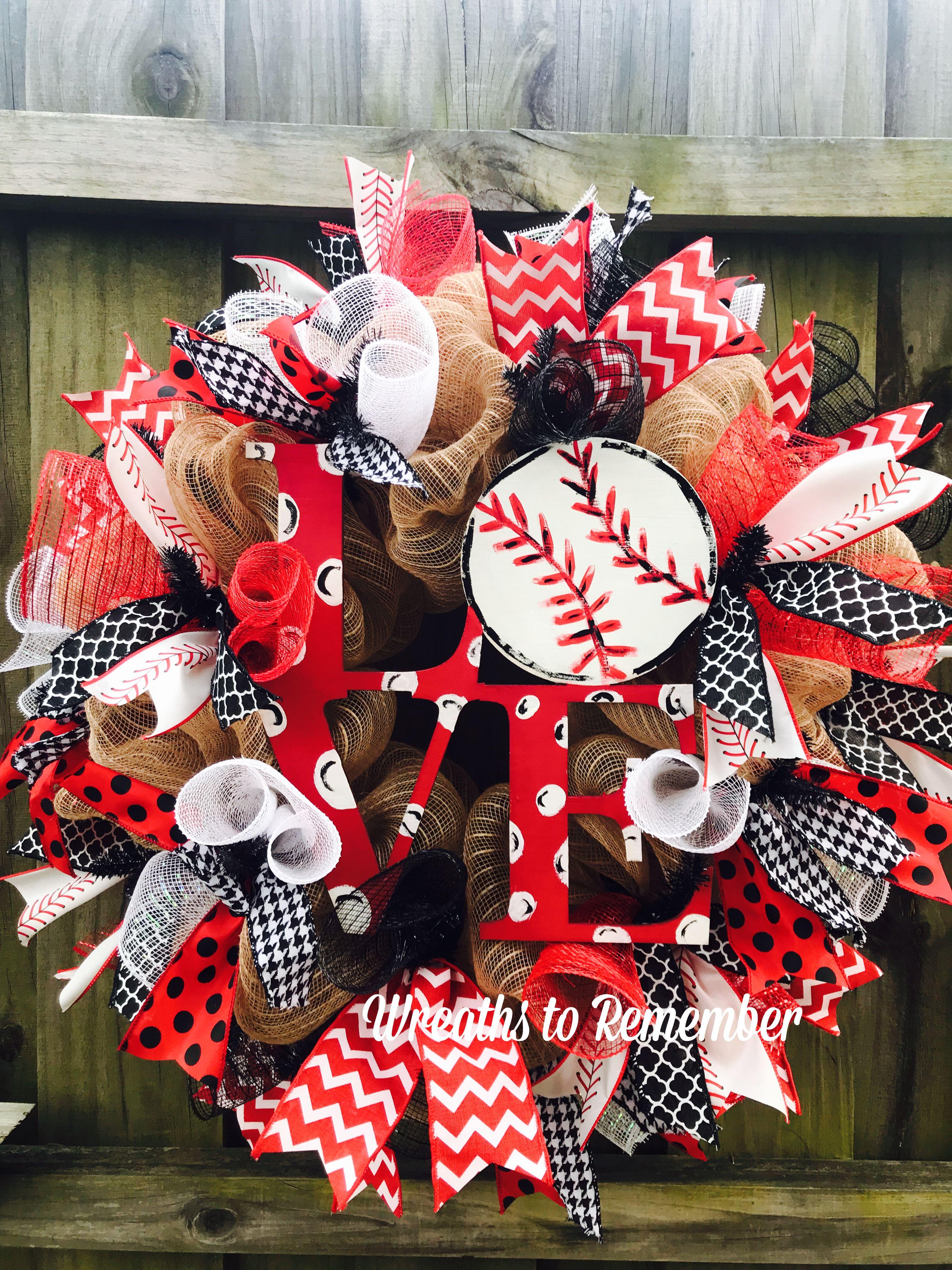 23+ Baseball christmas wreath ideas