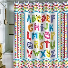 Kids Abc Shower Curtain