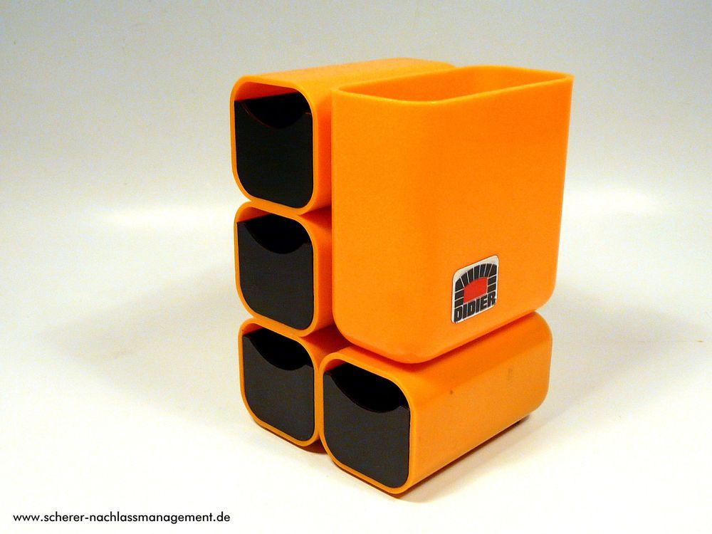 Didier Utensilo B Ro Schreibtisch Orange 70s 70er Design