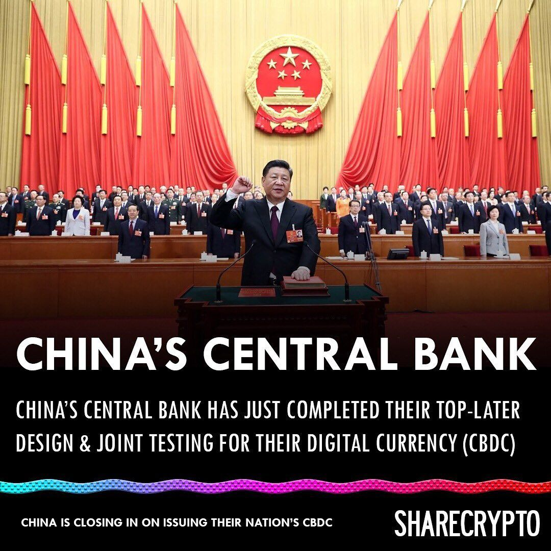 China Central Bank Bitcoin Cryptocurrency Reddit News