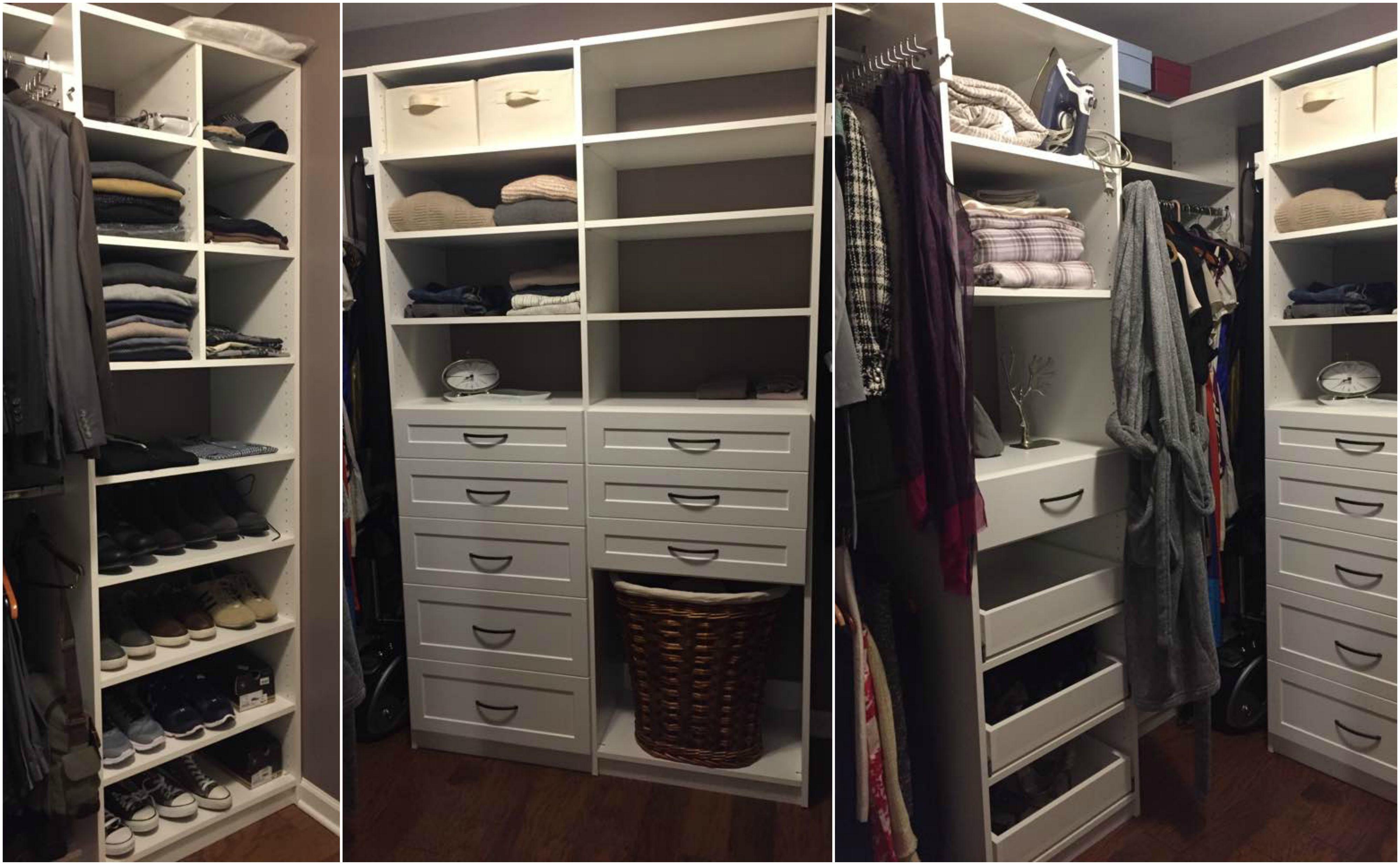 walk organizetogo in closets with corner closet hardware closetmaster large modern hang drawers pin custom