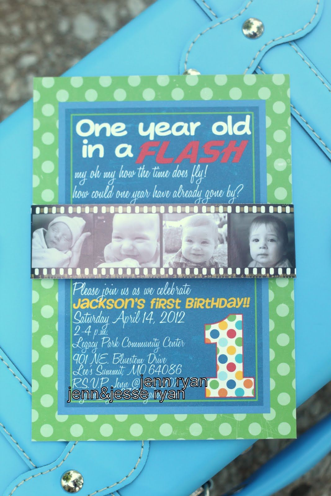 A Year In Flash Birthday Party