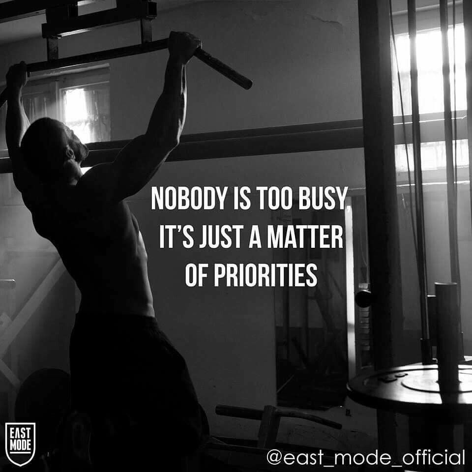 Prioritize Gym Inspiration Fitness Motivation Quotes Fitness