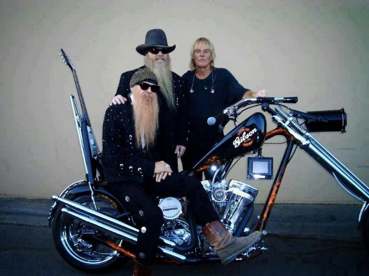 Zz Top Motorcycle Bike Harley Davidson