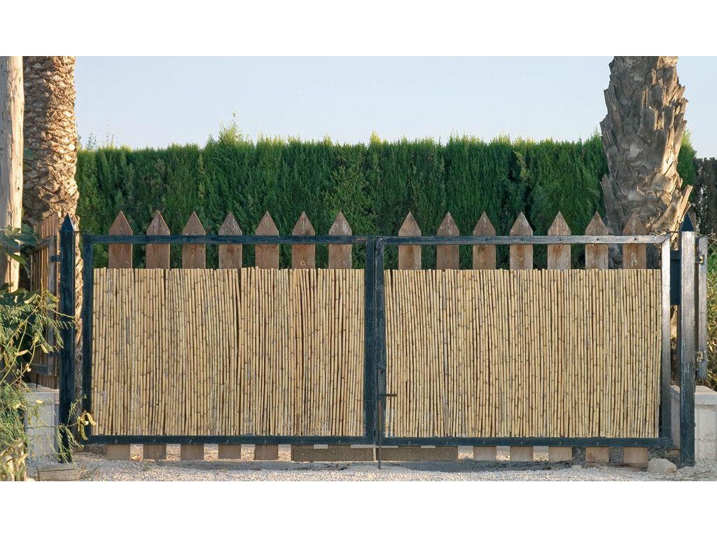 cerramientos de caizo para jardn catral - Cerramientos Jardin