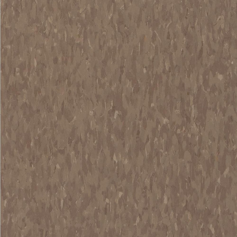 Imperial Texture VCT 12 In X Chocolate Brown Commercial Vinyl