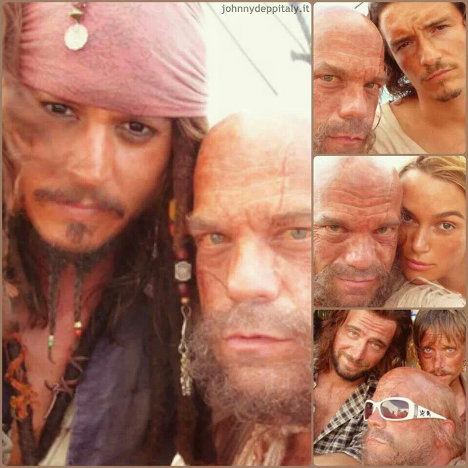 Bhs With Pirates Cast Pirates Of The Caribbean Johnny Depp Pirates