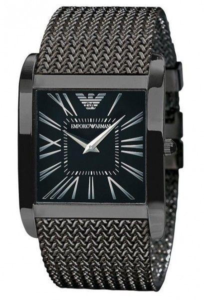 Emporio Armani Damen   Herren Uhr AR2028 BLACK Super Slim   Emporio ... f0a227f9f9