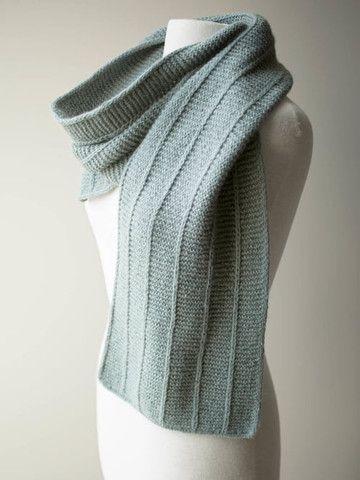 Shibui Maai M.1 Scarf - Free Pattern Friday | Knitting | Pinterest ...