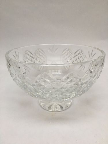 Waterford Crystal Hearts Footed Wedding Bowl 6 Giftware Perfect