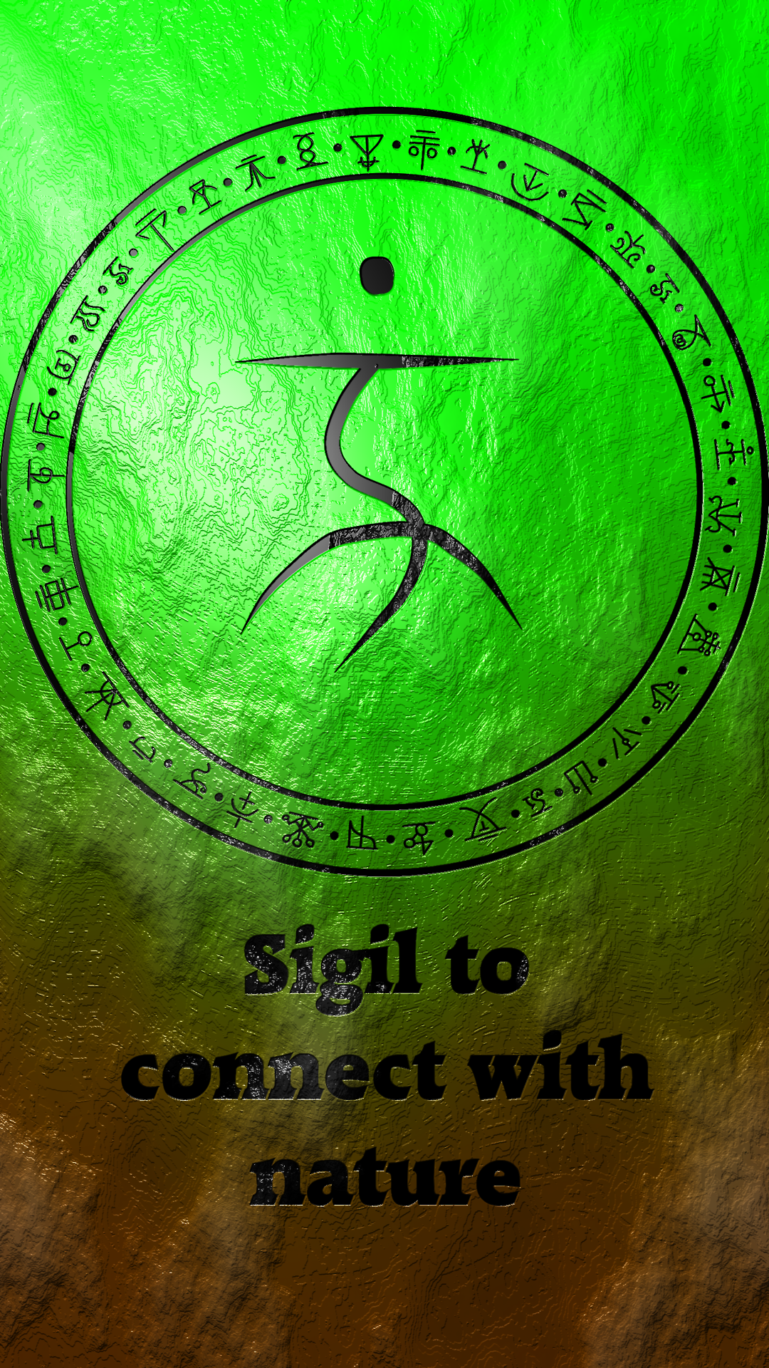 Sigil to connect with nature wiccan pinterest symbols sigil to connect with nature witchcraft symbolsgreen buycottarizona
