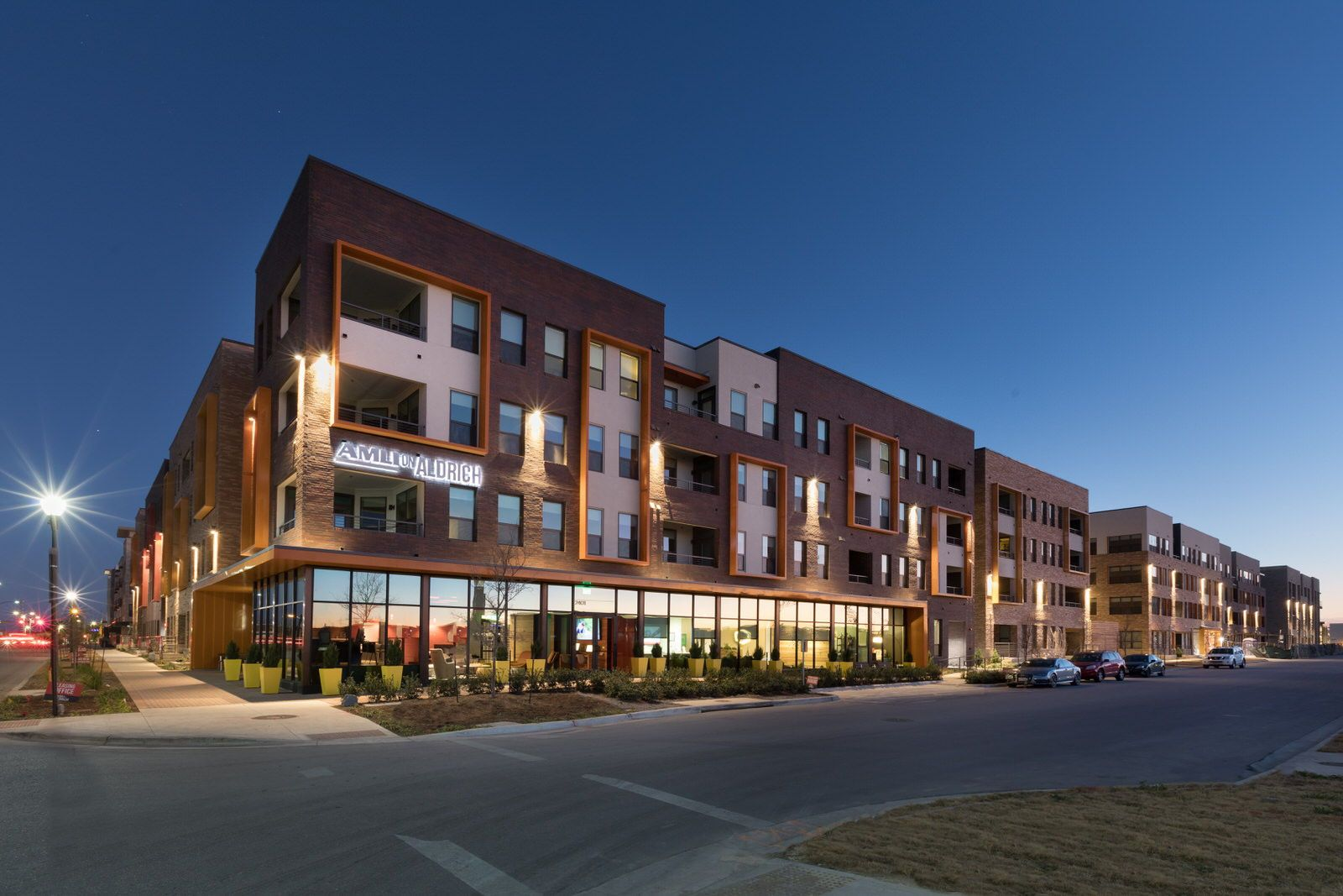 The brand new luxury apartments at AMLI on Aldrich are