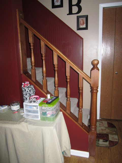 Best The Diy Momma How To Paint A Staircase Banister Without 400 x 300