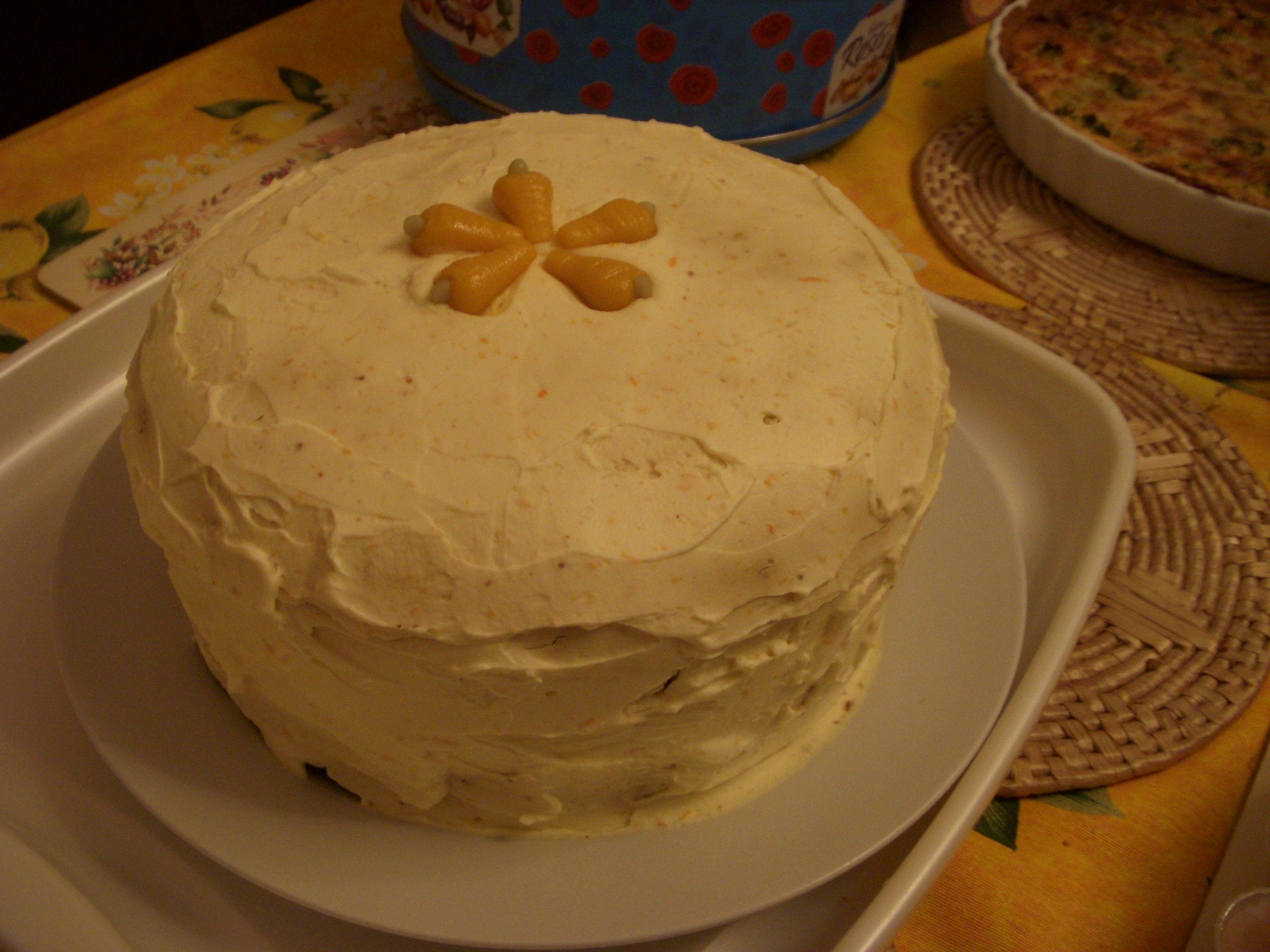 Carrot cake for easter easter cakes baking carrot cake