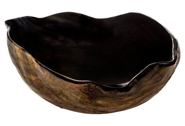 Round Horn Bowl