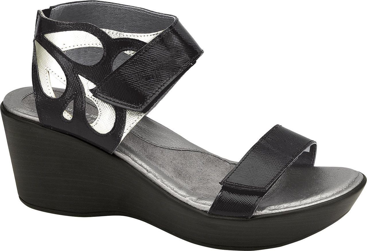 Naot Intrigue Ankle strap wedges, Naot shoes, Wedge sandals
