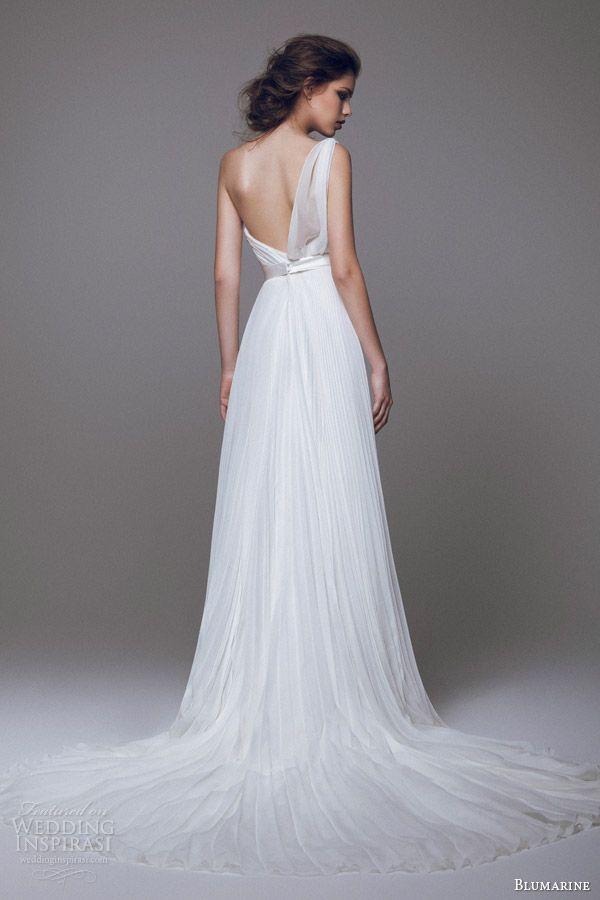 Blumarine Bridal 2015 Wedding Dresses Part 1 Wedding Inspirasi Pleated Wedding Dresses Bridal Dresses Wedding Dresses