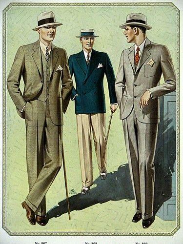 1928 Men S Fashion 1920er Herrenmode Manner Outfit Vintage