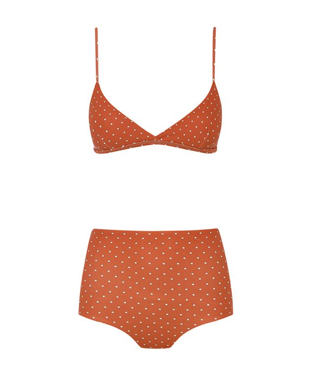 2070bde5e9 matteau swim -Tri Crop Top ($120) & High Waist Brief ($120) | Hawaii ...