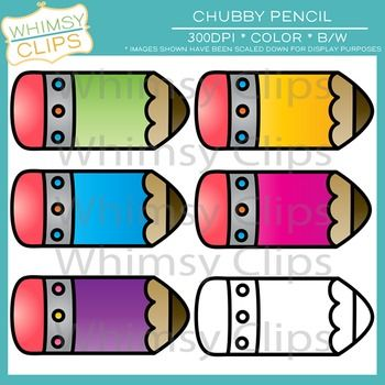 this free clip art set contains 6 chubby pencil images which rh pinterest ca classroom clipart free download classroom jobs clipart free