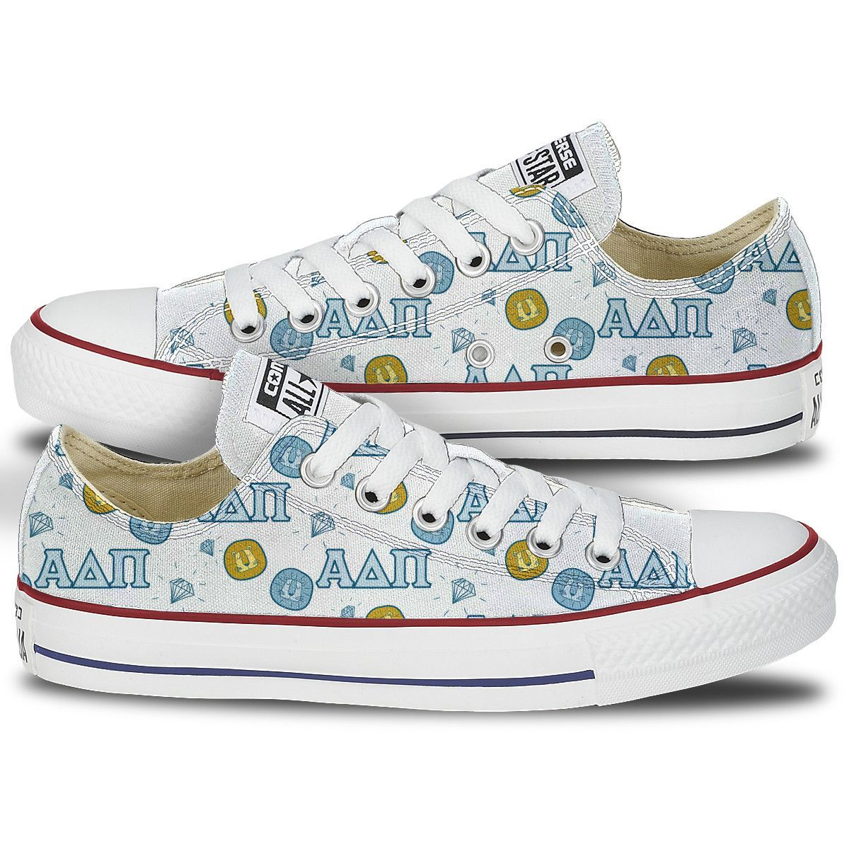 Converse Chuck Taylor All Star lion pattern lows