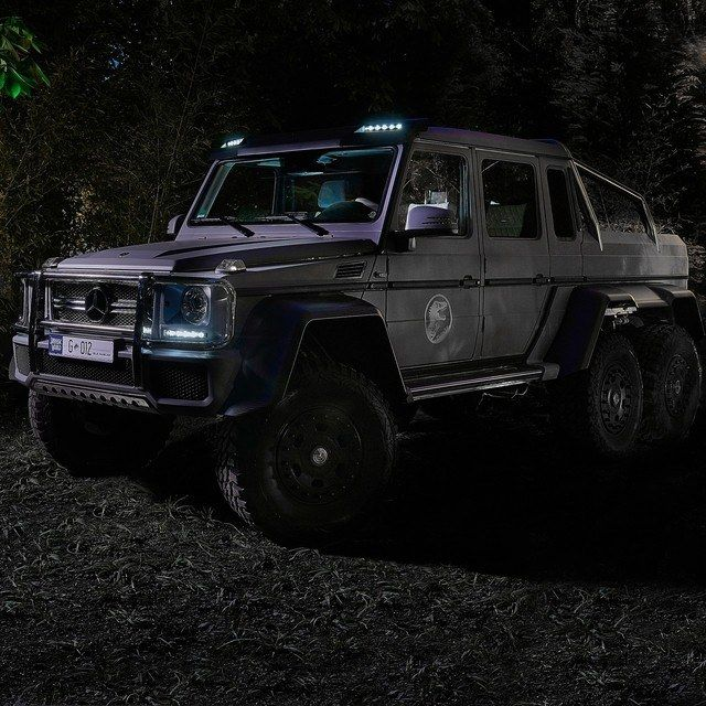 "The G63 AMG 6x6 From The Upcoming ""Jurassic World"" Movie"