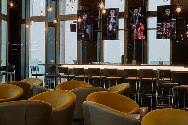 Bar 11 im hyperion hotel hamburg direkt im zentrum und in for Hotel hamburg zentrum